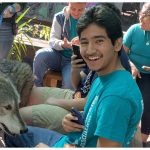 Students from The Immokalee Foundation visit the Shy Wolf Sanctuary