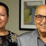 Mrs. Tayebeh Eghrari and Dr. Massoud Eghrari