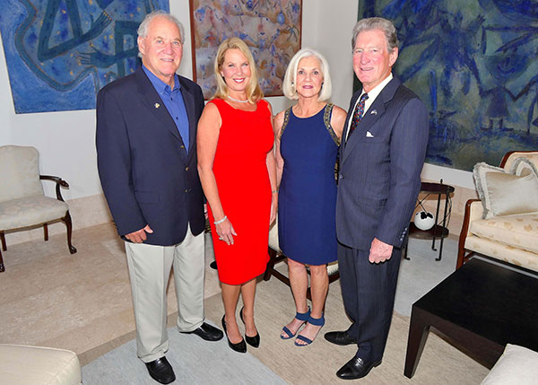 Tom and Carol Joseph, Janet and Jerry Belle.