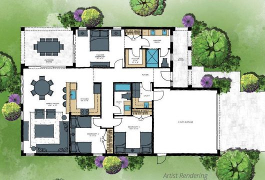 Home Layout Rendering